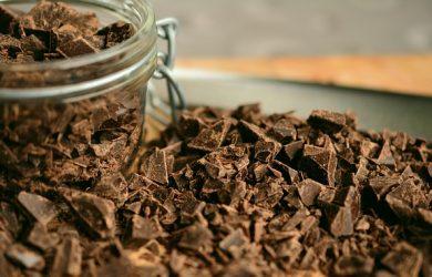foto de chocolate meio amargo